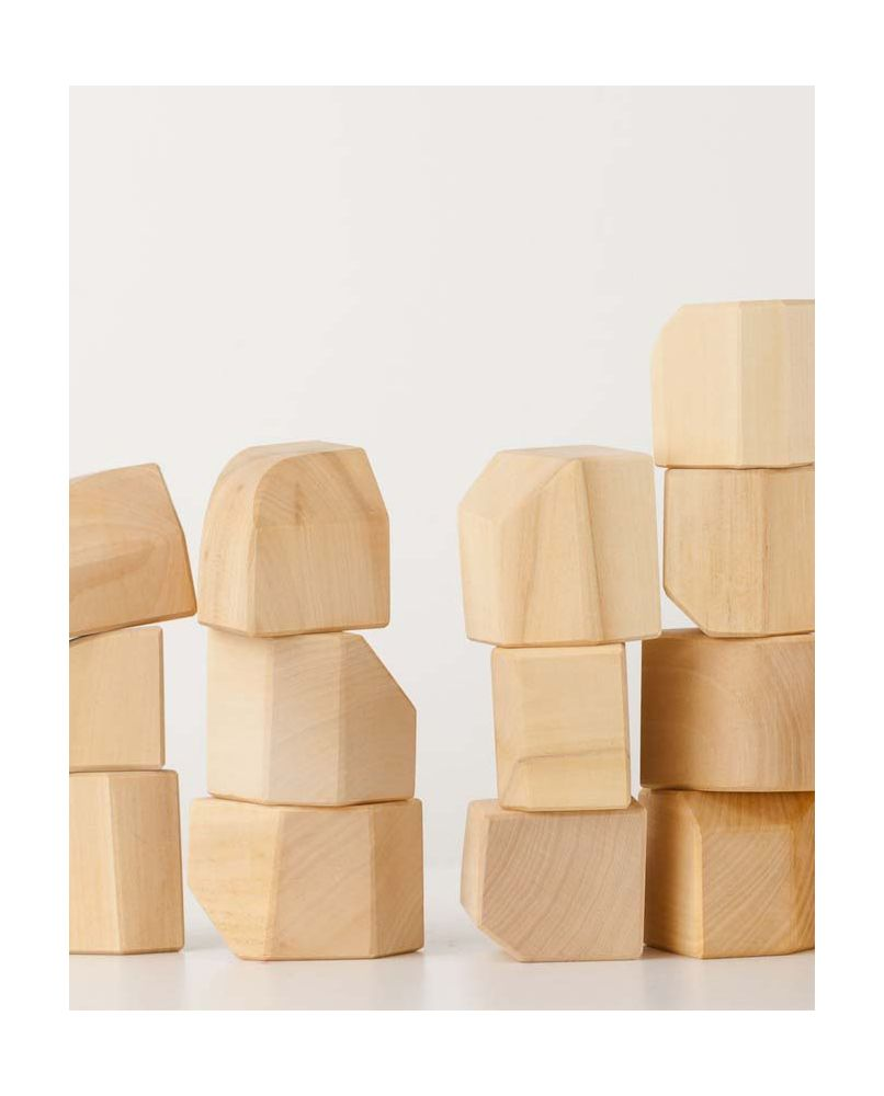 Non Cubes Set - Natural