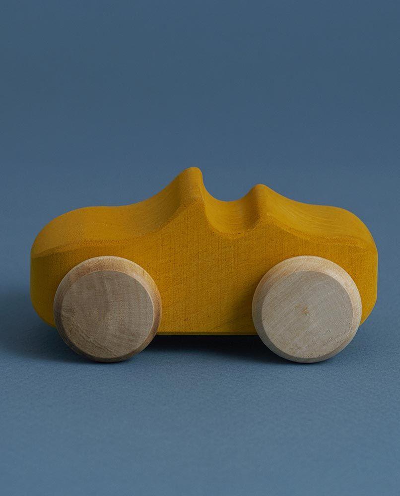 Toy Car - Mustard