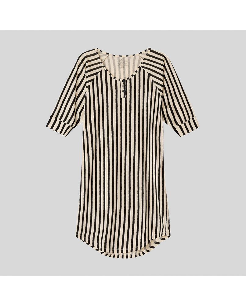 Everyday Nightgown - Classic Stripes