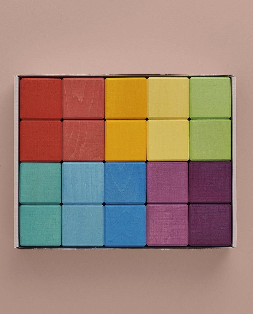 Cubes Set - Rainbow