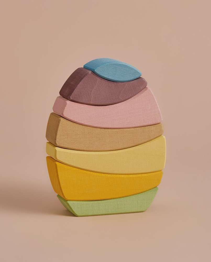 Egg Stacker - Pastel