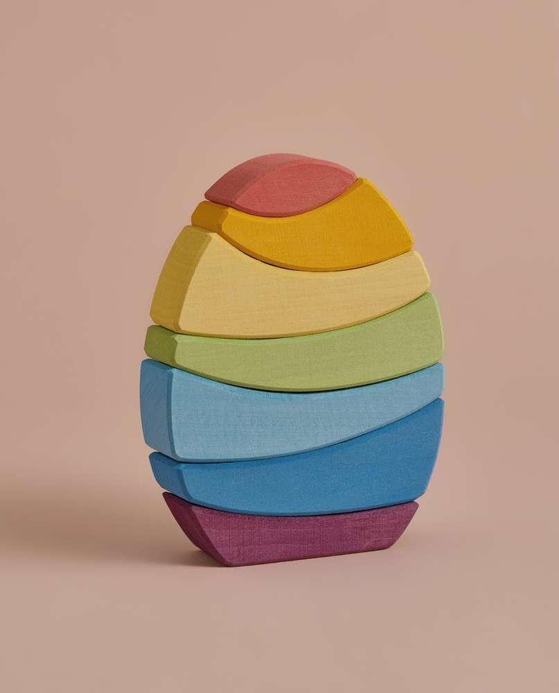 Egg Stacker - Rainbow