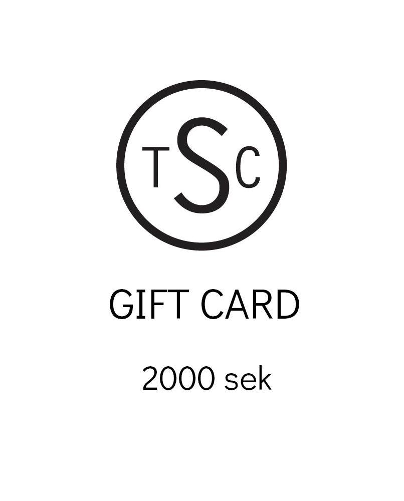 Presentkort - 2000 sek