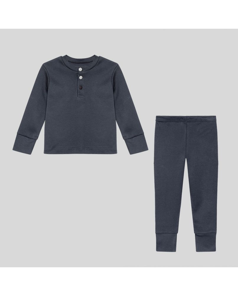 Kids pyjamas set in Dark grey/Blue