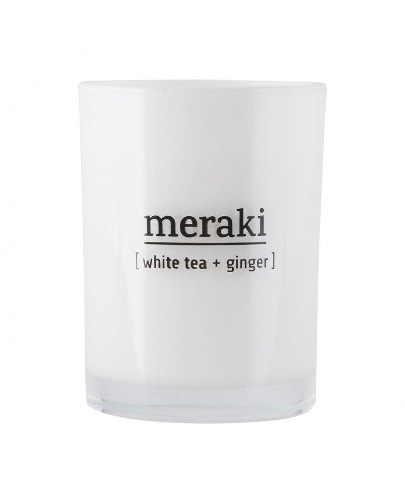 MERAKI SCENTED CANDLE - White Tea & Ginger