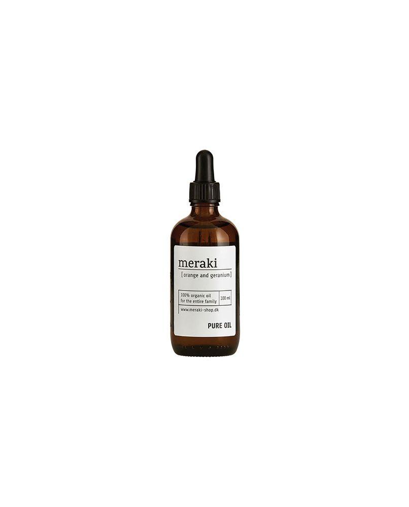 MERAKI PURE OIL - Orange & Geranium, 100 ml