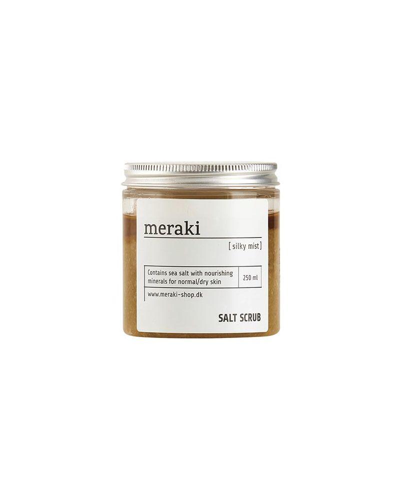 MERAKI SALT SCRUB - Silky Mist, 250 ml