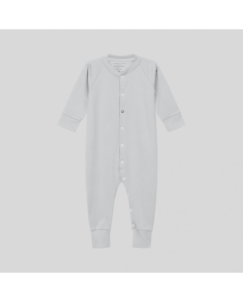 Baby Sleepsuit in light grey