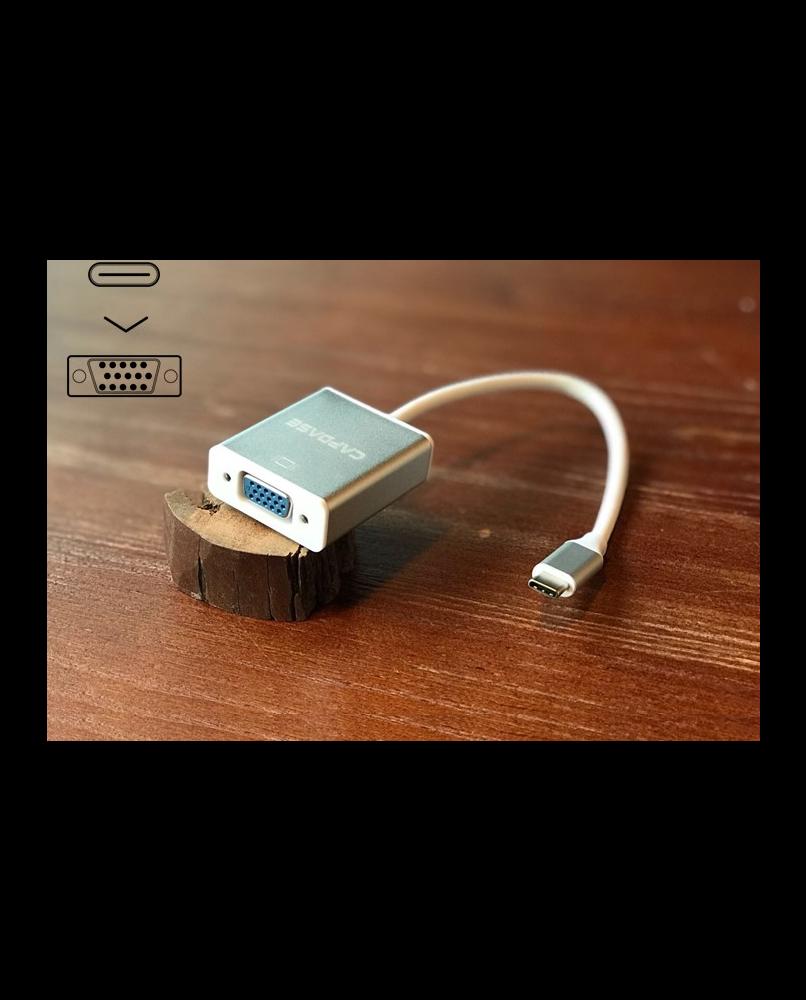 Capdase USB-C till VGA