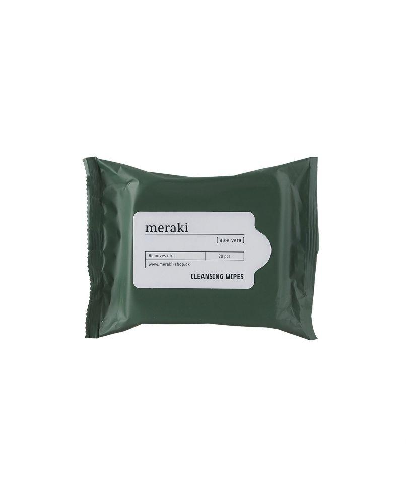 MERAKI - Refreshing wipes, aloe vera, 50 gms