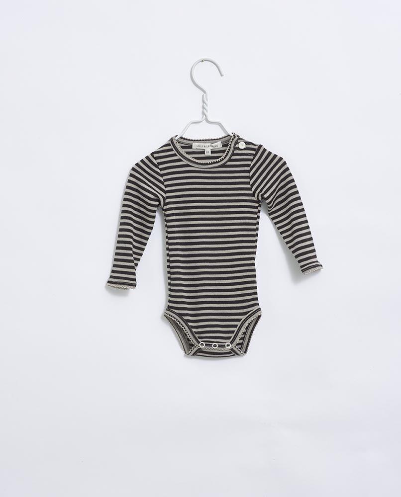 Lilli & Leopold Merino Body - Stripe