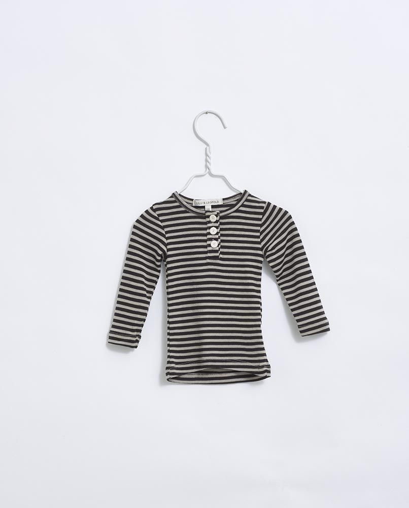 Lilli & Leopold Grandpa Shirt - Stripe